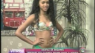 getlinkyoutube.com-Janaína Cangussú apresenta desfile de biquínis (07/11)