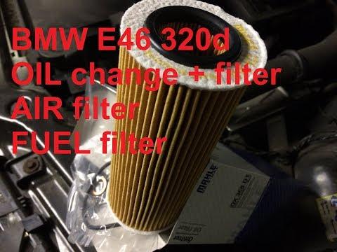 Расположение масляного фильтра у BMW E46
