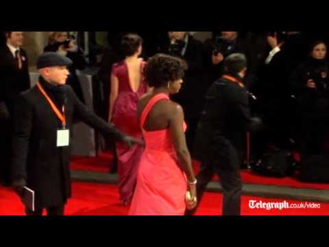 Bafta 2012: red carpet fashion