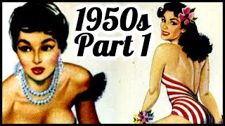 1950's pin up glamour girls vintage erotica