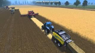 getlinkyoutube.com-Farming simulator 2015 / mods follow me / Moisson / HD