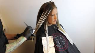 getlinkyoutube.com-Ombré How to- Balayage-Driven Ombré Technique featuring Brian Haire