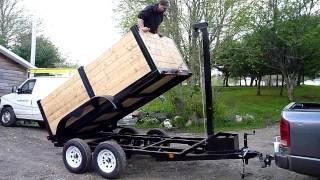 getlinkyoutube.com-Home made dump trailer