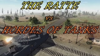 getlinkyoutube.com-Men of War Assualt Squad 2  - Landkreuzer P1000 Ratte vs Hordes of Tanks - Shermans, MAUS