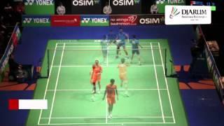 getlinkyoutube.com-Tontowi Ahmad/Liliyana Natsir at Final Yonex All England Open Badminton Championships 2013