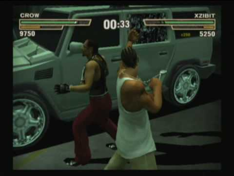 Def Jam Fight for NY - Crow vs Xzibit