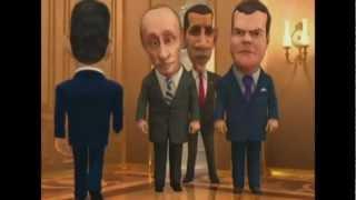 "getlinkyoutube.com-Медведев и Путин едут к армянам  на ""ШАХОВ ШУХОВ"" 2"