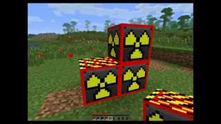 getlinkyoutube.com-Minecraft Mega nuke, blowing up minecraft blocks with Explosives+
