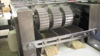 getlinkyoutube.com-เครื่องทำบะหมี่ JTV & EXCELLENT cutter machine (noodle factory)