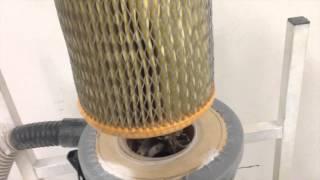 """getlinkyoutube.com-Самодельный пылесос для мастерской типа """"циклон"""" / cyclone dust collector"""