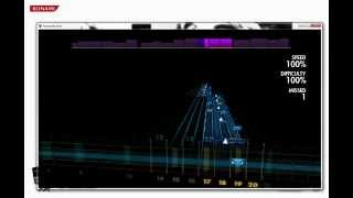 Rocksmith 2014 CDLC - Muse - The Handler (Fast part)
