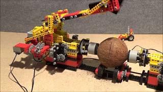 LEGO : Kokosnuss knacken öffnen Maschine -  Coconut crack open machine - üfchen Moc