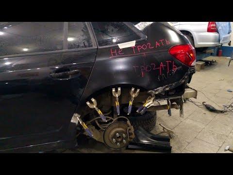 Chevrolet Cruze замена крыла, часть 2