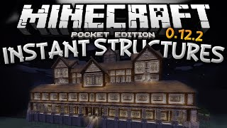 getlinkyoutube.com-MASSIVE STRUCTURES MOD!!! - Instantly Build Castles, Houses, & More - Minecraft PE (Pocket Edition)