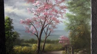 getlinkyoutube.com-Paint with Kevin Hill - Scenic Tree Road