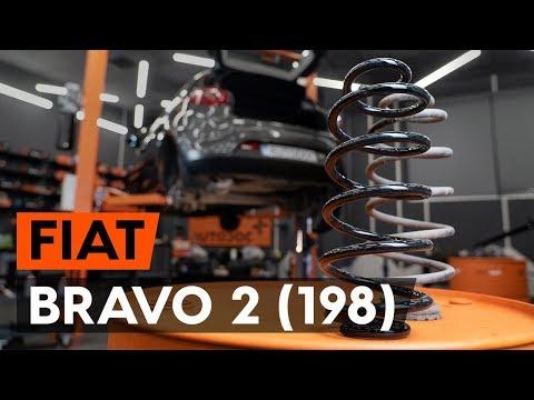 Как заменить пружины задней подвескиFIAT BRAVO 2 (198) (ВИДЕОУРОК AUTODOC)