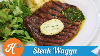 getlinkyoutube.com-Resep Steak Wagyu (Wagyu Steak with Chimichurri Sauce recipe video) | YUDA BUSTARA
