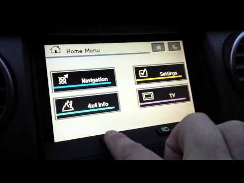 Просмотр ТВ во время движения в Land Rover Discovery 3