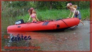 ECHTES Modellschlauchboot ferngesteuert- an inflatable r/c model zodiac