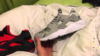 getlinkyoutube.com-Replica huarache vs. Authentic huarache