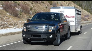 getlinkyoutube.com-Ford F-150 EcoBoost takes on Nissan, Chevy & the Ike Gauntlet 2.0 Mega Tow Test (Episode 2)