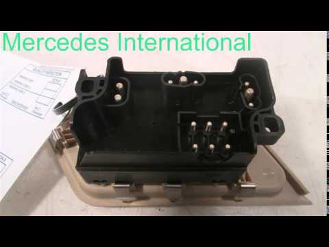 1994 Mercedes C220 LH SEAT SWITCH TAN 2028200710 - mbiparts.com Used OEM Mercedes Parts - Dis... OEM