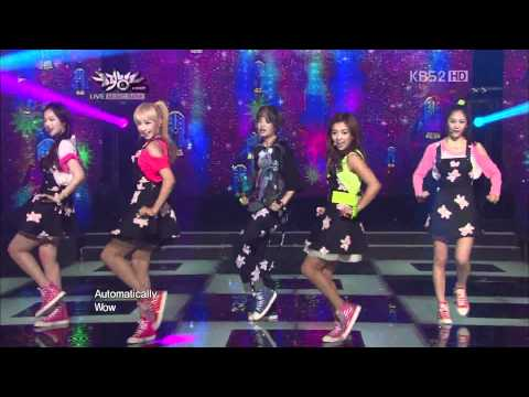 HD 1080P 120615 f(x) - Jet &amp; Electric Shock @ KBS Music Bank Comeback Stage