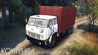 getlinkyoutube.com-Spintires 2014 - МАЗ-509