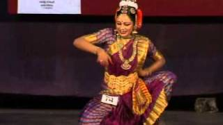 Aishwarya performing kuchipudi in state 51st kalolsavam