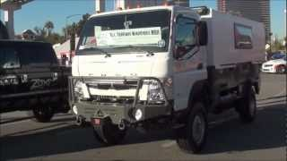 getlinkyoutube.com-SEMA 2012 Fuso 4x4 expiditionary vehicle
