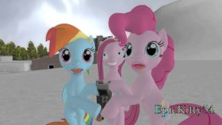 getlinkyoutube.com-Pinkie Pie and Rainbow Dash get lost in The Cupcakes Ice Age A.D. 2654