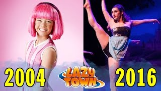 getlinkyoutube.com-Lazy Town Antes e Depois (2004 - 2016)
