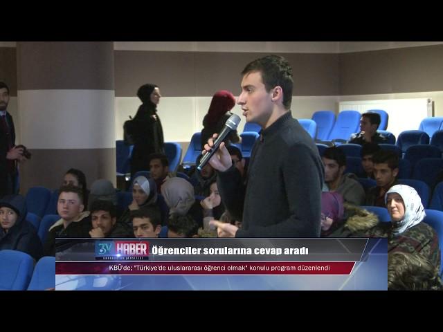 UDEF Başkanı Türkiye'de uluslararası öğrenci olmayı anlattı