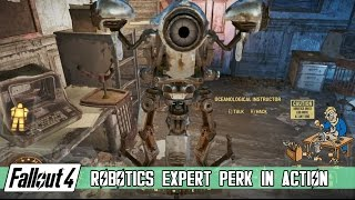 getlinkyoutube.com-Fallout 4 - Robotics Expert Perk Showcase