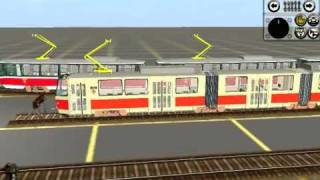 getlinkyoutube.com-Trainz 2004 - My tram track (under construction!)