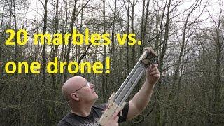 getlinkyoutube.com-Preview: Anti Drone Slingshot Shotgun (Over/Under)