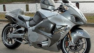 getlinkyoutube.com-Hayabusa GSX R 1300  Turbo 400Km/H racing