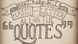 getlinkyoutube.com-Hand Lettering Step By Step