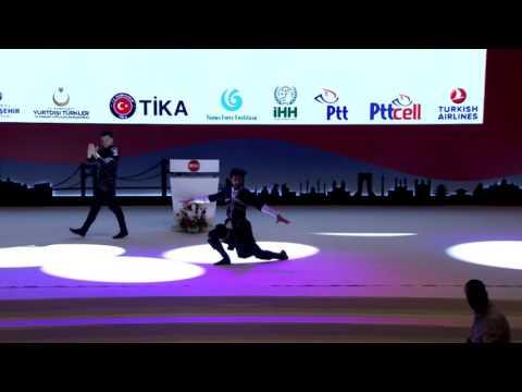 Kafkas Dans Gösterisi - 10.Uluslararası Öğrenci Buluşması Finali