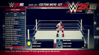 getlinkyoutube.com-WWE 2K16 ALL NEW Moves