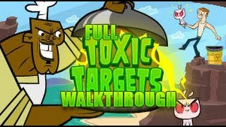 Total Drama: Revenge Of The Island Toxic Targets FULL Walkthrough *HD*