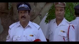 getlinkyoutube.com-Santhanam Comedy Scene With Traffic Police - Kandean Latest Tamil Movie Scene