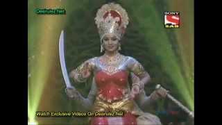 getlinkyoutube.com-Debina's Dance Performance as Goddess Lakshmi at SABTV Diwali Celebrations - 10th November 2012