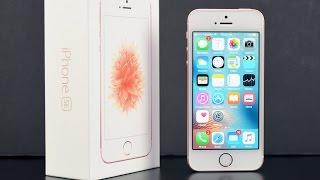 getlinkyoutube.com-Apple iPhone SE: Unboxing & Review