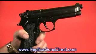 getlinkyoutube.com-Replica Beretta M92 9mm Pistol