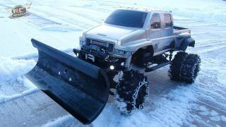 getlinkyoutube.com-RC ADVENTURES - OVERKiLL SNOW PLOW!