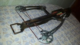 made the best homemade crossbow for ever (by 2016)