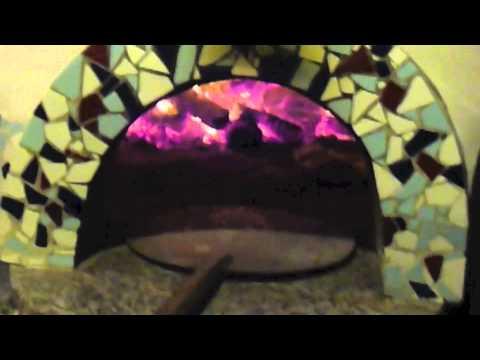 Pão Pita/ Sírio no forno a lenha