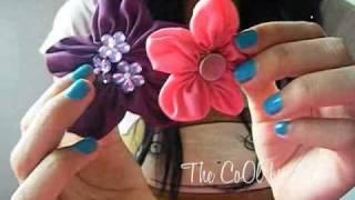 getlinkyoutube.com-Flores de tela, super fácil! :)