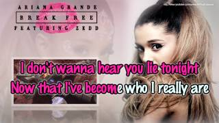 getlinkyoutube.com-Ariana Grande feat. Zedd - Break Free (BGV) [Karaoke / Instrumental]